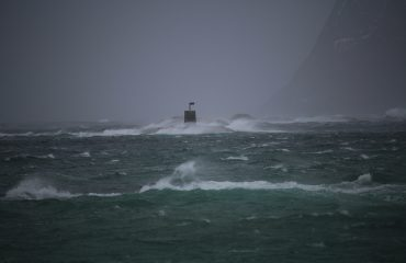 The storm is passing Sommarøy