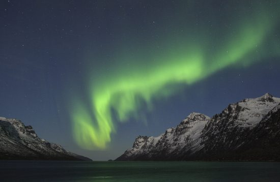 Northern Lights Chase by mini bus, Arctic Booking Ersfjordbotn