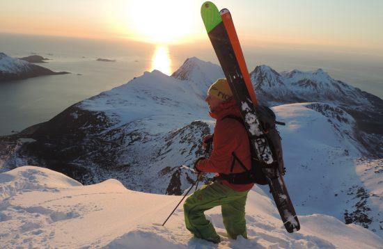 Top tour ski guided at Tromsø