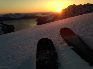 Top tour ski guided close to Tromsø